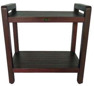 Decoteak Outdoors Solid Wood Side Table Decoteak