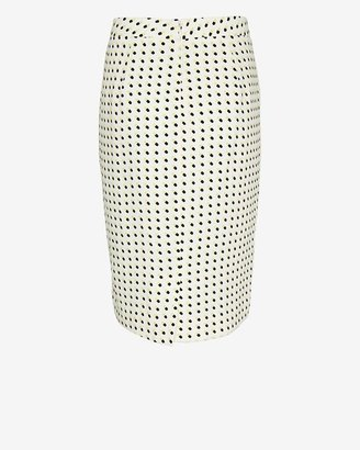 A.L.C. Bell Happy Pill Print Pencil Skirt