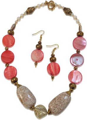 Creative Treasures Ceramic Necklace Set