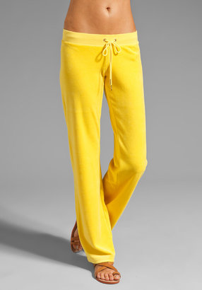 Juicy Couture Velour Original Leg Pant