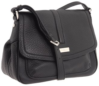 Cole Haan Ava Flap Crossbody (Black) - Bags and Luggage