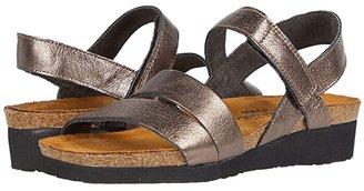 Naot Footwear Kayla (Black Matte Leather) Women's Sandals