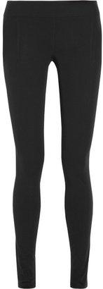 Helmut Lang Stretch-twill leggings