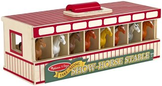 Melissa & Doug Show-Horse Stable