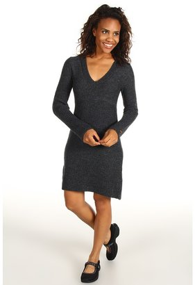 The North Face Saguaro Sweater Dress (Charcoal Grey Heather) - Apparel