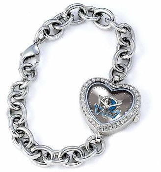 Game Time NBA Women's BH-DAL Heart Collection Dallas Mavericks Watch
