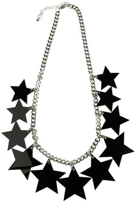 Forever 21 Lucite Star Necklace