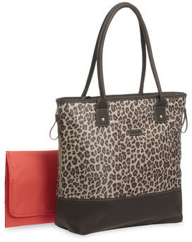 Carter's Cheetah-Print Tote Diaper Bag