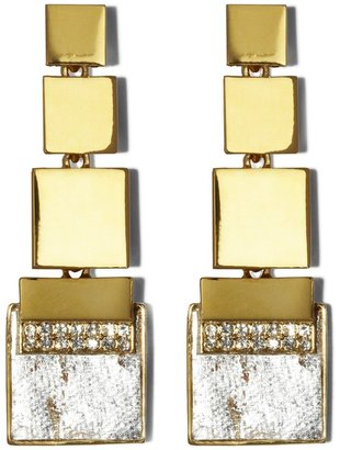 Vince Camuto Square Drop Earrings