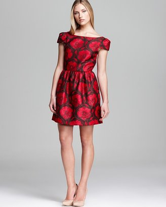 Alice + Olivia Dress - Nelly Puff Sleeve Floral