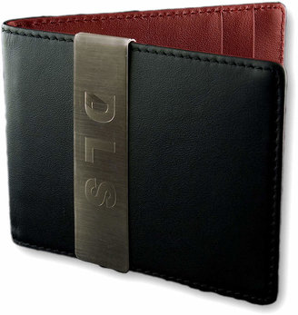 Accessories Engravable Front Pocket Wallet with Money Clip