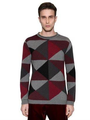 Giorgio Armani Silk & Mohair Blend Knit Sweater