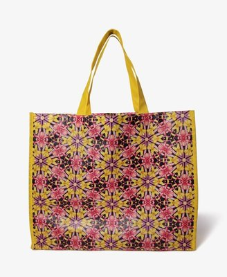 Forever 21 Kaleidoscope Floral Shopper's Tote