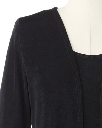 Coldwater Creek Open travel knit cardigan
