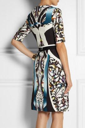 Peter Pilotto Eva printed stretch-crepe dress