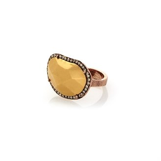 House Of Harlow Horizontal Sahara Sand Ring - Rose Gold