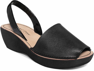 Kenneth Cole Reaction Women's Fine Glass Platform Wedge Sandals $49 thestylecure.com