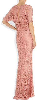 Moschino Cheap & Chic Moschino Cheap and Chic Cape-style lace gown
