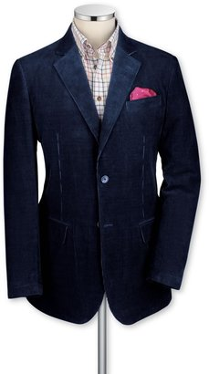 Charles Tyrwhitt Navy cord unstructured classic fit sport coat