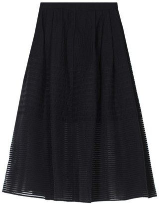 Tibi Sheer Organza Full Skirt