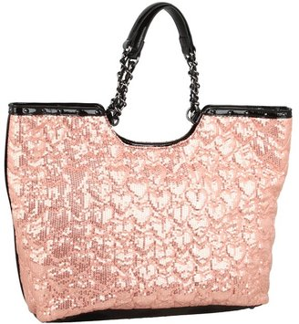 Betsey Johnson High Sequency Tote (Blush) - Bags and Luggage