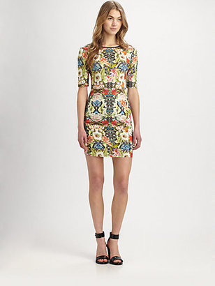 Sam & Lavi Nola Jersey Scoopback Dress
