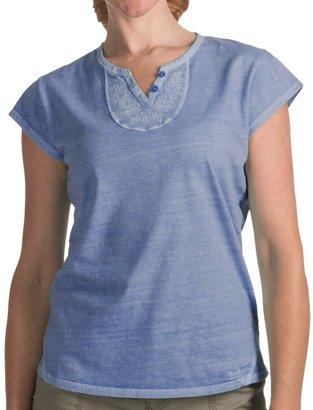 Woolrich First Forks V-Neck Henley Shirt (For Women)