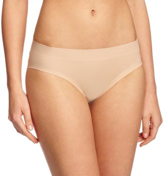 Magic Body Fashion Magic Bodyfashion Women's Padded Pants Push-Up Plain Control Knickers Beige (Latte 1453) 14 (Manufacturer Size:XL)