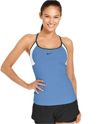 Nike Top, Dri-FIT Racerback Active Tennis Tank
