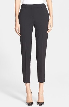 Women's Theory Testra 2B Stretch Wool Pants $265 thestylecure.com