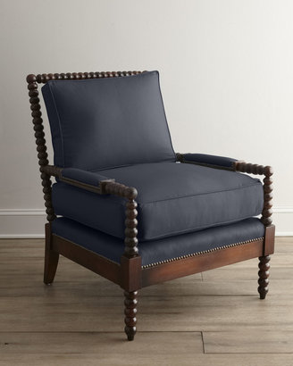 """Old Hickory Tannery Ellsworth"""" Spindle-Back Chair"""
