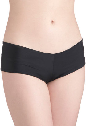 Lolli Swim Sunshine and Sprinklers Swimsuit Bottom in Black