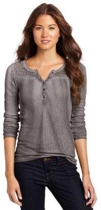 Fox Juniors Radient Long Sleeve Henley Shirt