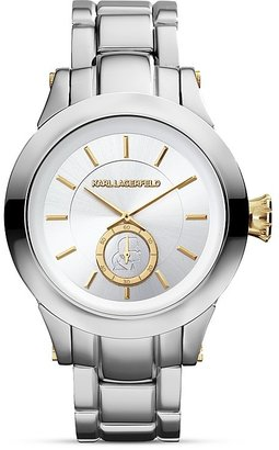 Karl Lagerfeld Chain Chronograph Watch, 40mm