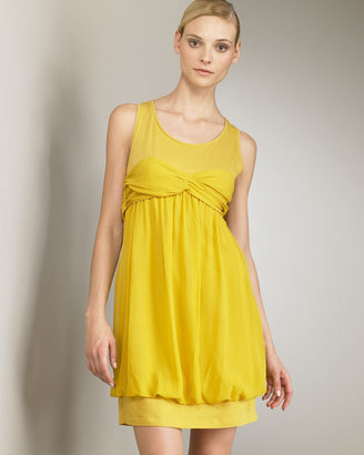 See by Chloe Draped Jersey Dress