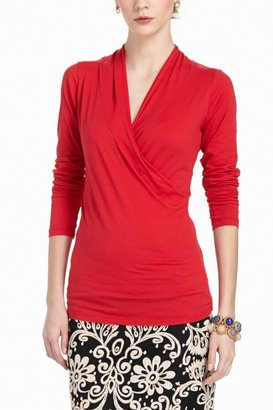 Anthropologie Rigby Wrap Top