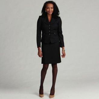 Tahari ASL Women's Pinstriped Skirt Suit $58.49 thestylecure.com