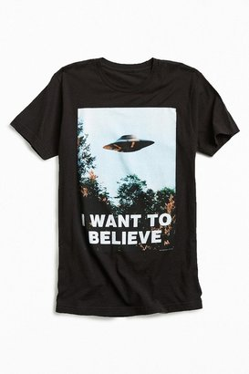 Urban Outfitters The X-Files I Want To Believe Tee $24 thestylecure.com
