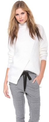 3.1 Phillip Lim Wrap Sweater with Open Back