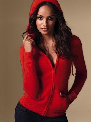 Victoria's Secret Angora Hoodie Sweater