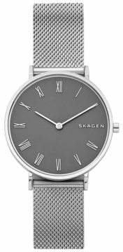 Skagen Slim Hald Stainless Steel Mesh Bracelet Watch
