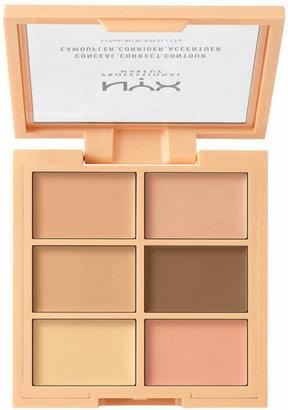 Nyx Cosmetics 3C Conceal Correct Contour Palette $11.99 thestylecure.com