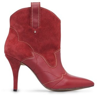 MANGO Suede leather ankle boots