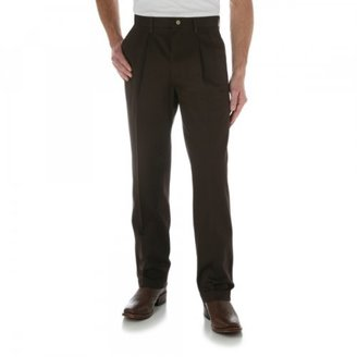 Wrangler Men's Big Riata Pleated Front Casual Pant