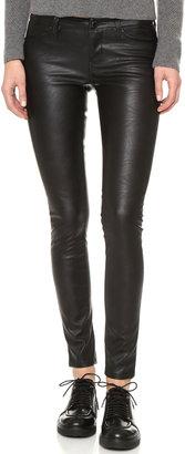 Blank Denim Vegan Leather Skinny Pants $98 thestylecure.com