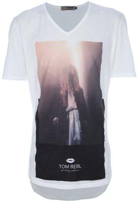 Tom Rebl printed t-shirt