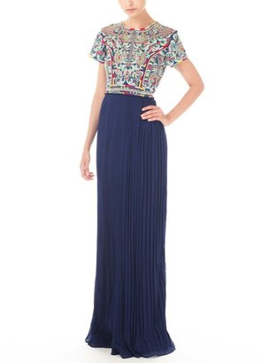 Candela Arabella Embroidered Top Dress