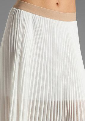 BCBGMAXAZRIA Pleated Maxi Skirt