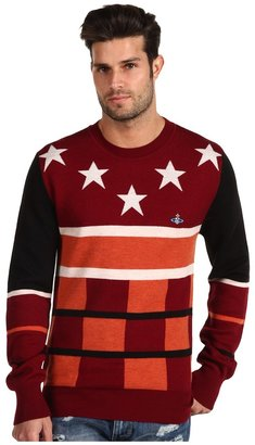 Vivienne Westwood MAN - Stars Sweater (Red) - Apparel