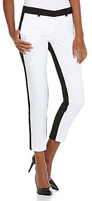 XOXO Two-Tone Skinny Pants